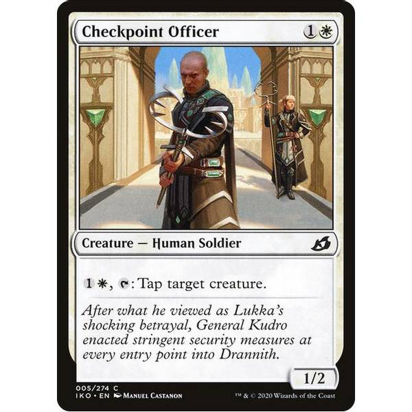 Bilde av Checkpoint Officer