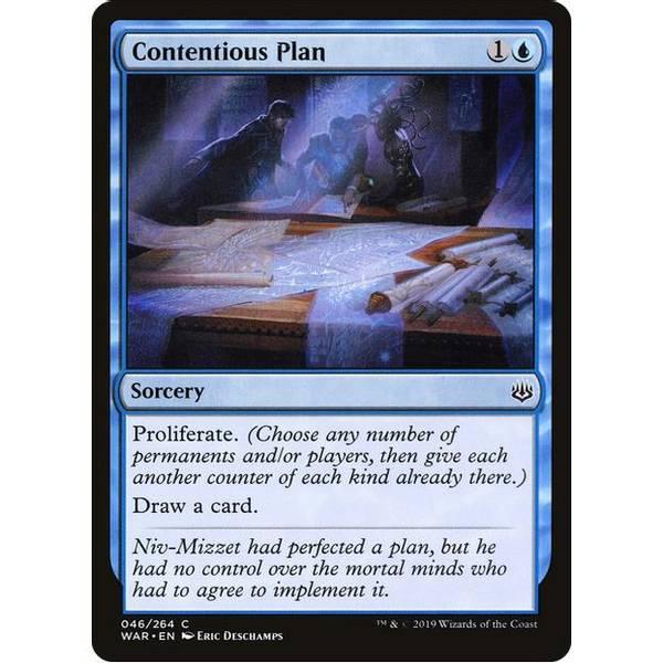 Bilde av Contentious Plan