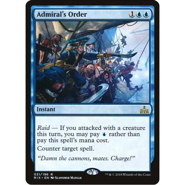 Bilde av Admiral's Order