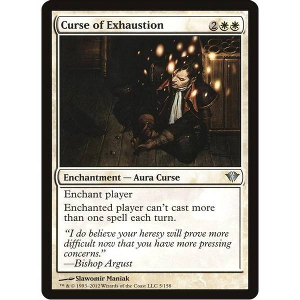 Bilde av Curse of Exhaustion