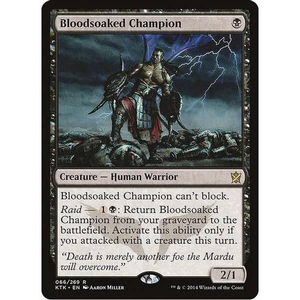 Bilde av Bloodsoaked Champion
