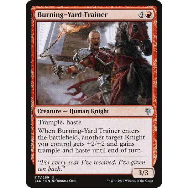 Bilde av Burning-Yard Trainer