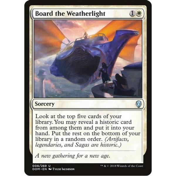 Bilde av Board the Weatherlight