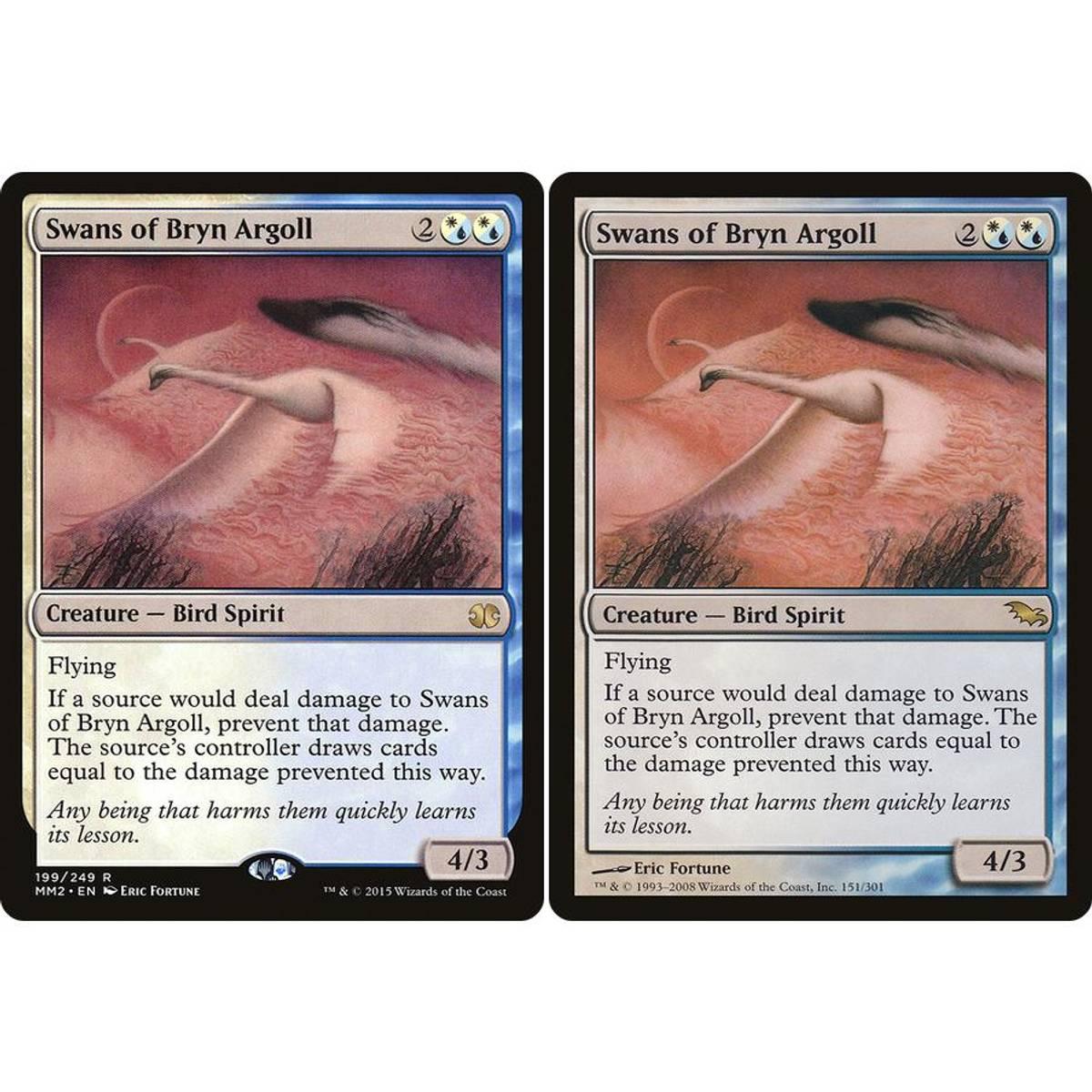Swans of Bryn Argoll