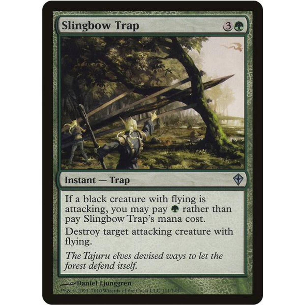 Slingbow Trap