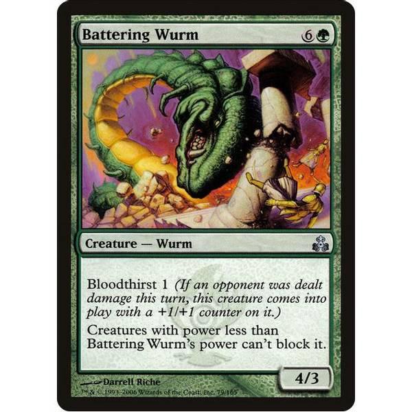 Bilde av Battering Wurm