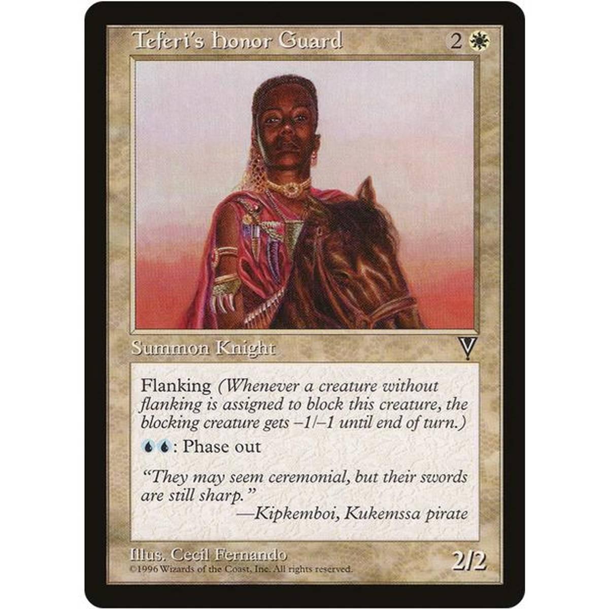 Teferi's Honor Guard