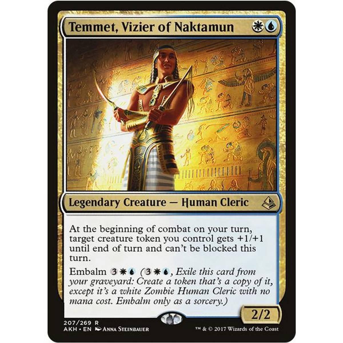 Temmet, Vizier of Naktamun
