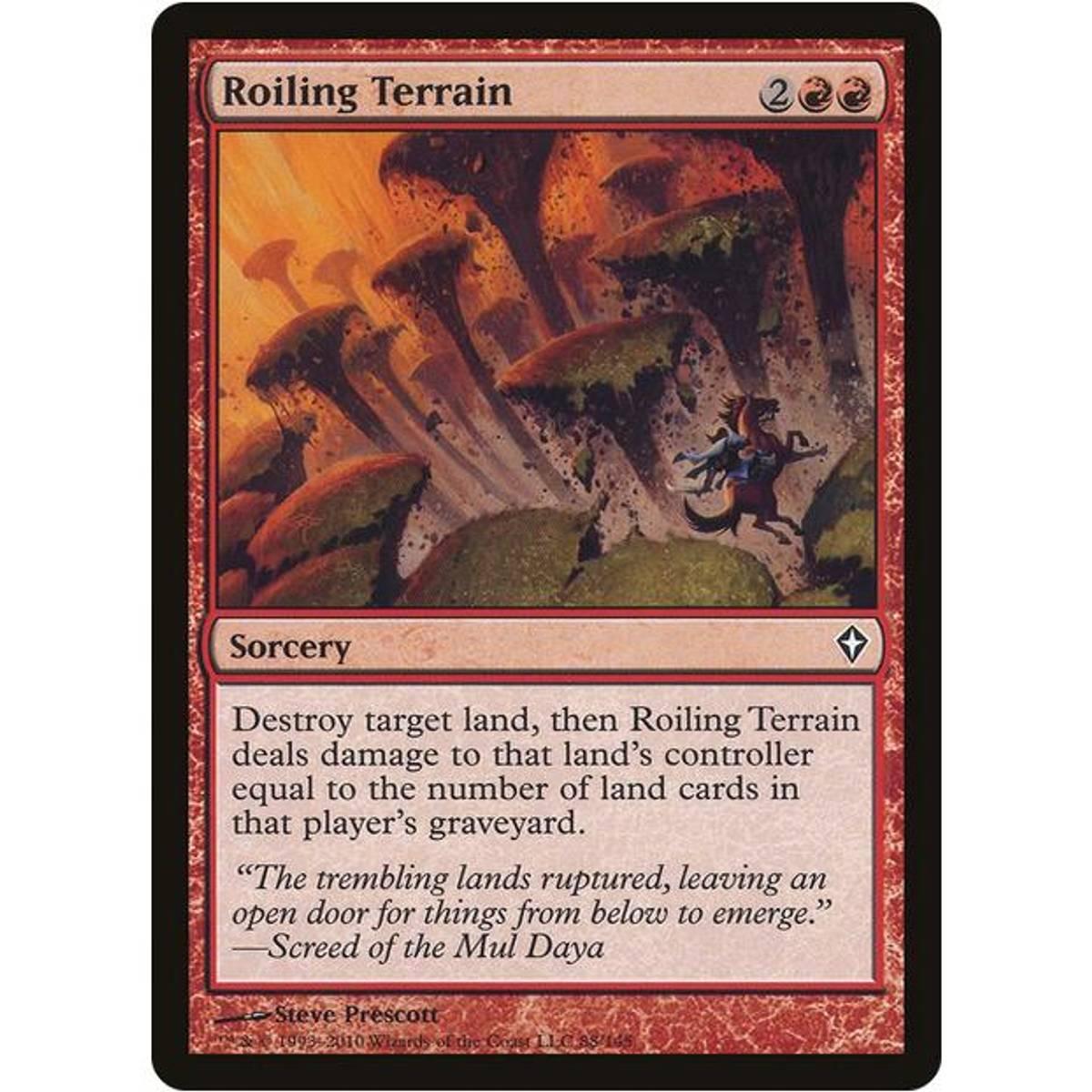 Roiling Terrain