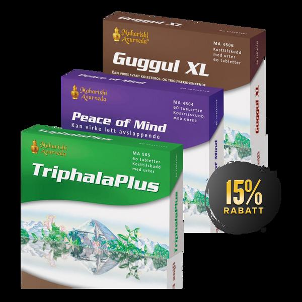 Bilde av Ned i vekt pakken (Triphala Plus + Guggul XL +