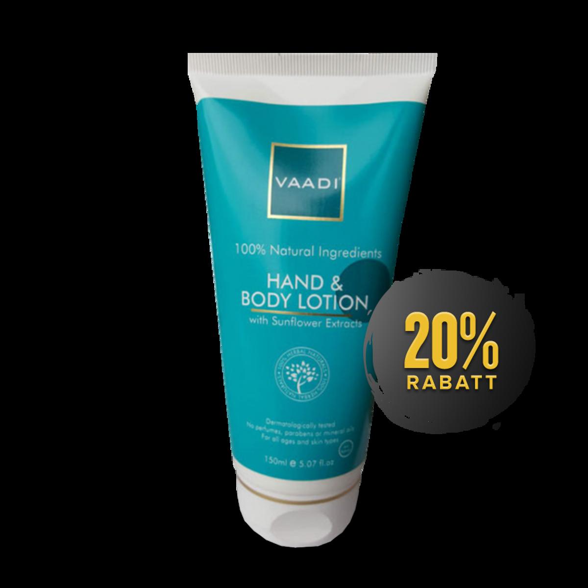 Hand & Body Lotion (Vaadi)