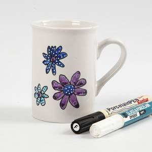 Bilde av DIY Glass- og porselenstusj -