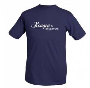 Bilde av T-shirt kongen av båtplassen