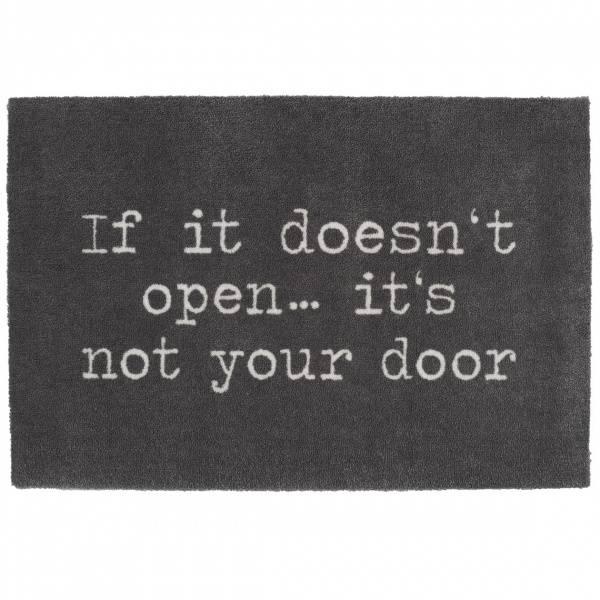 Door mat If it doesn't open 75x50cm