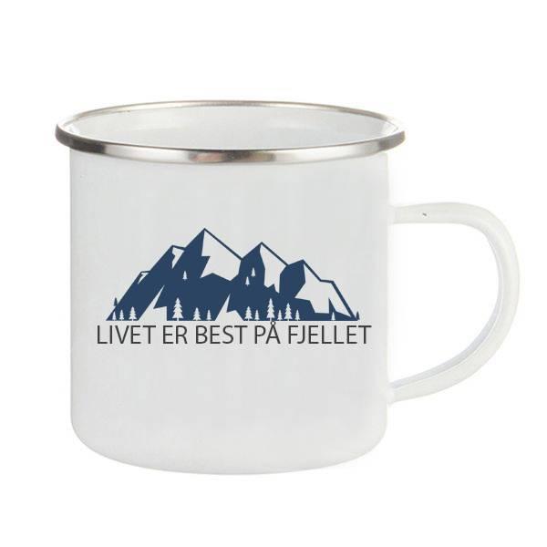 Emaljekopp Livet er best på fjellet