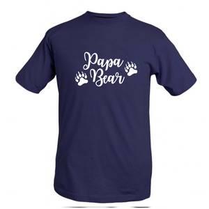 Bilde av T-shirt Papa bear
