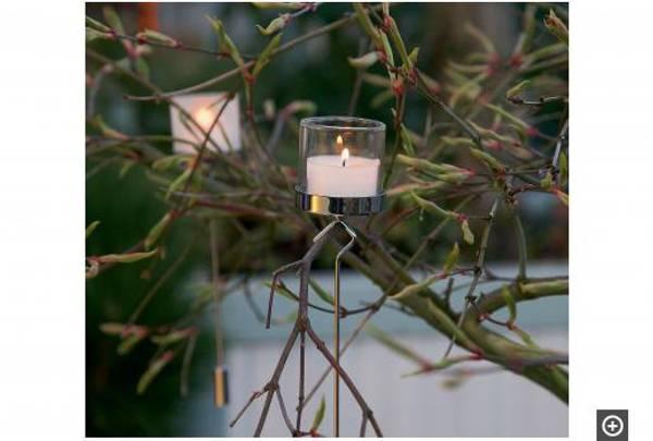 Noël tealight holder, 2 pcs