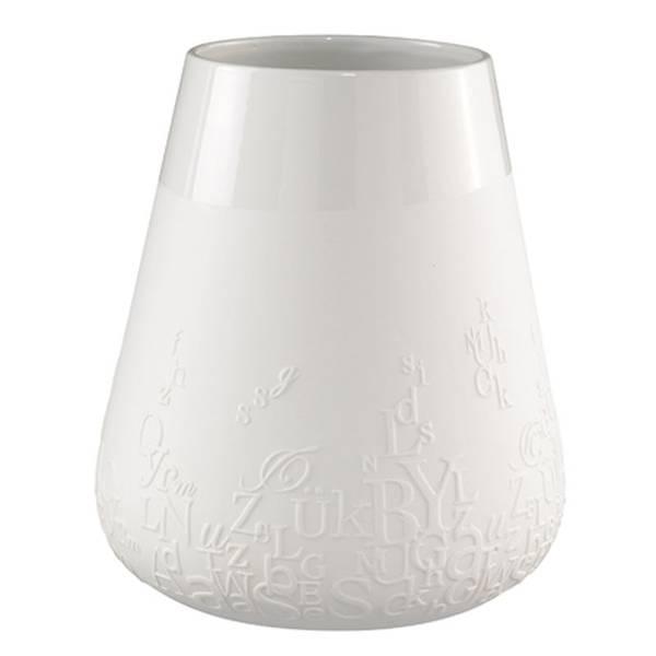 Poetry porcelain vase Letters