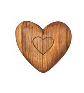 Bilde av Olive wood Heart