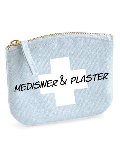 Tilbehørsveske Medisiner og plaster - Blå