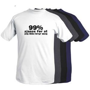 Bilde av T-shirt -99% sjanse