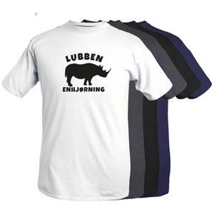Bilde av T-shirt - Lubben enhjørning