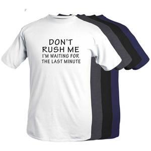 Bilde av T-shirt -Don't rush me