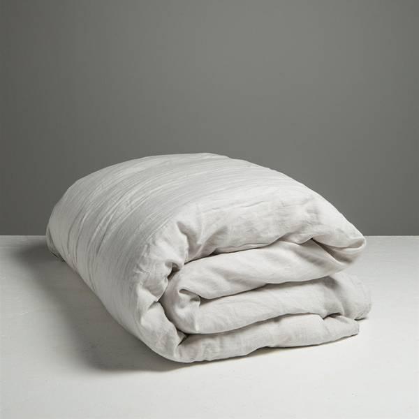 Dirty Linen 220x220 dynetrekk- Dirty White