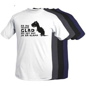 Bilde av T-shirt - Er du veldig glad..