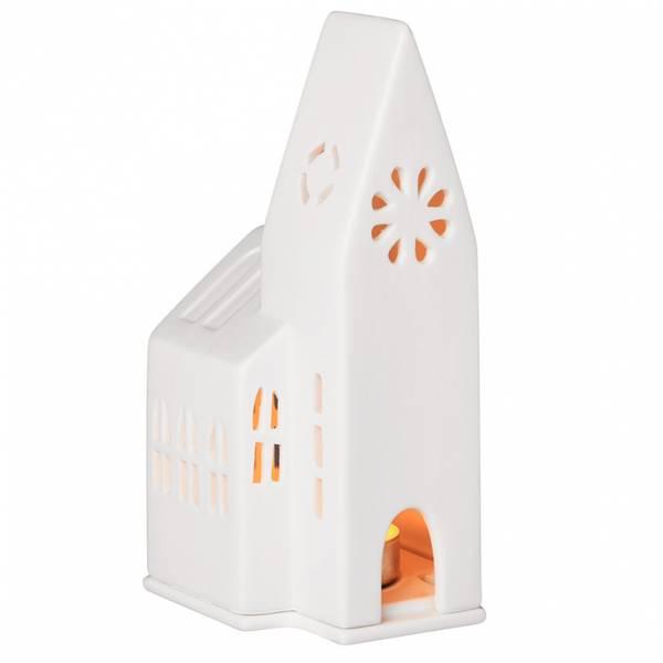 Light house Small church 9x9x18cm