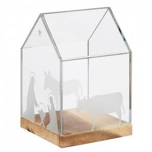 Bilde av Glass house 11,5x11,5x16,5cm