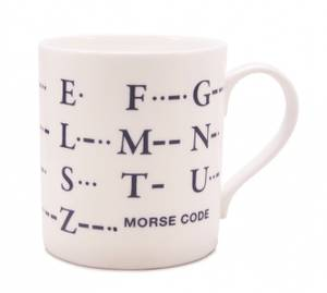 Bilde av Morse Code big mug