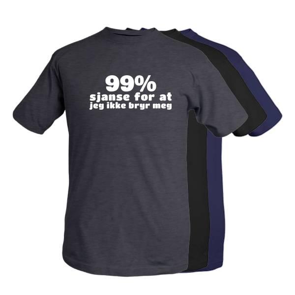 T-shirt -99% sjanse