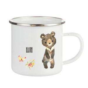 Bilde av Emaljekopp stående bjørn