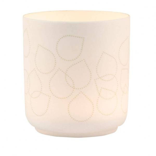 Lantern leaves small dia:8cm Height:8,5cm