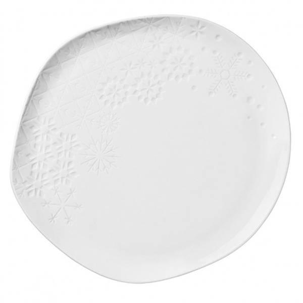 Plate Snowflake Large