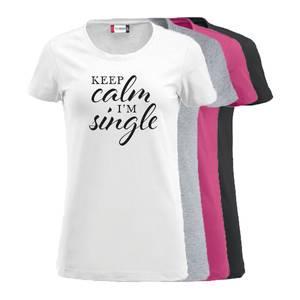 Bilde av Topp - Keep Calm, I'm single