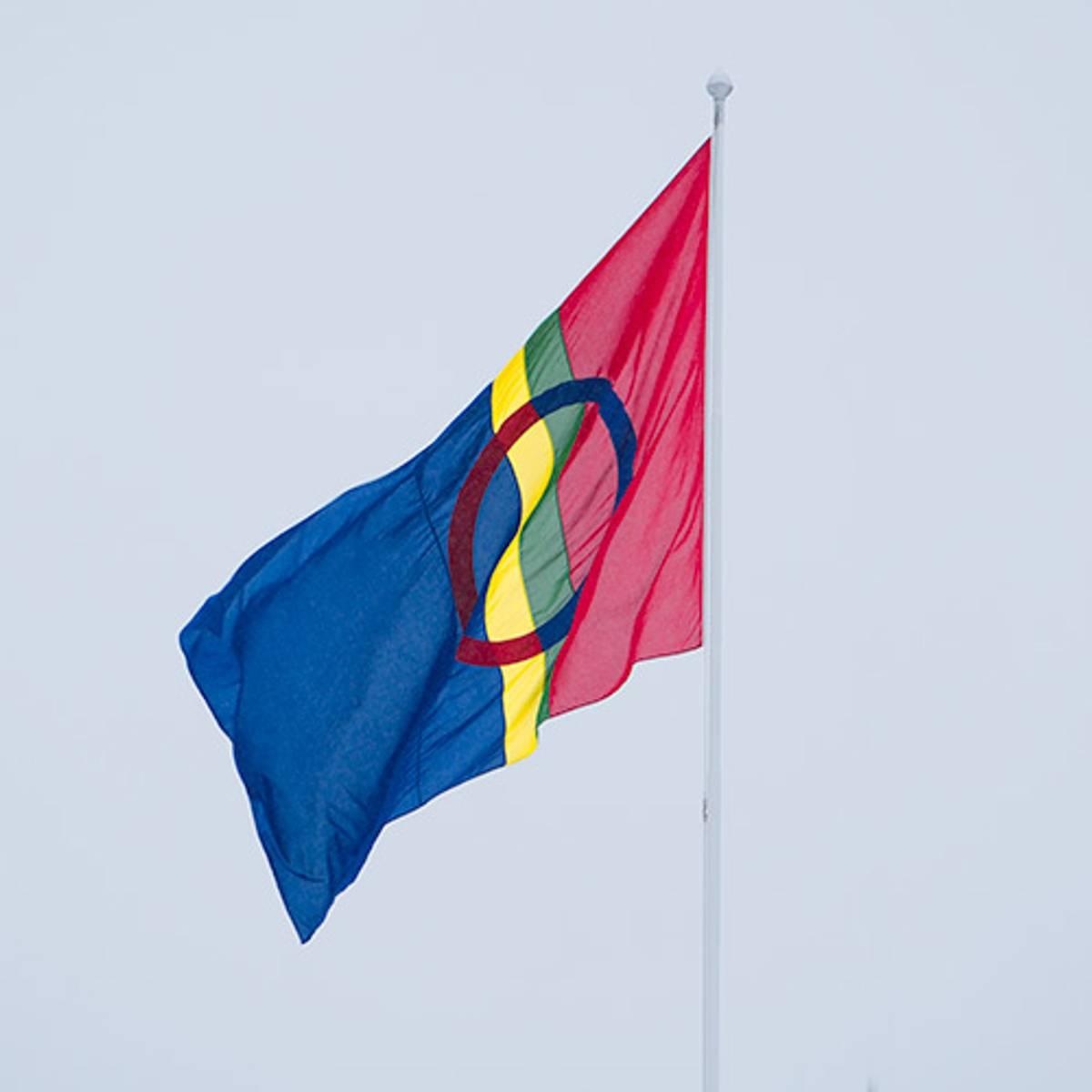 Sameflagg til flaggstang
