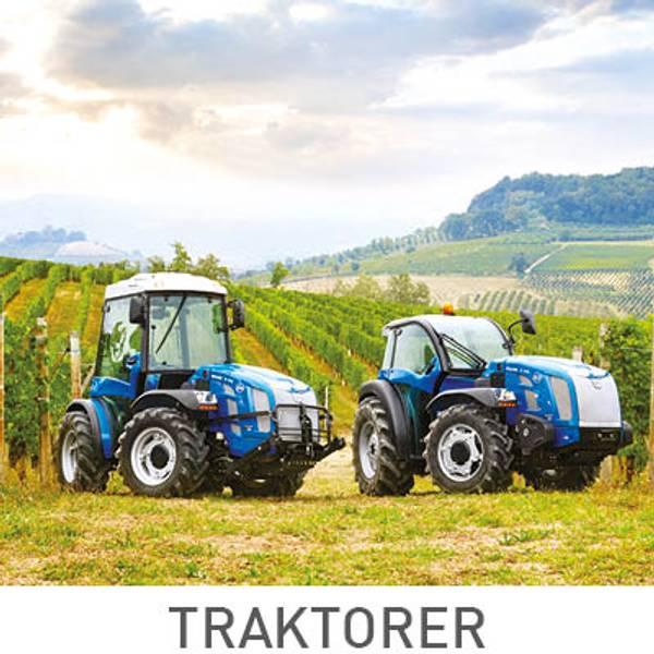 Stort utvalg av frukttraktor, kompakttraktor og kommunaltraktor