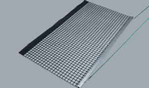 Bilde av Trekknett i aluminium -