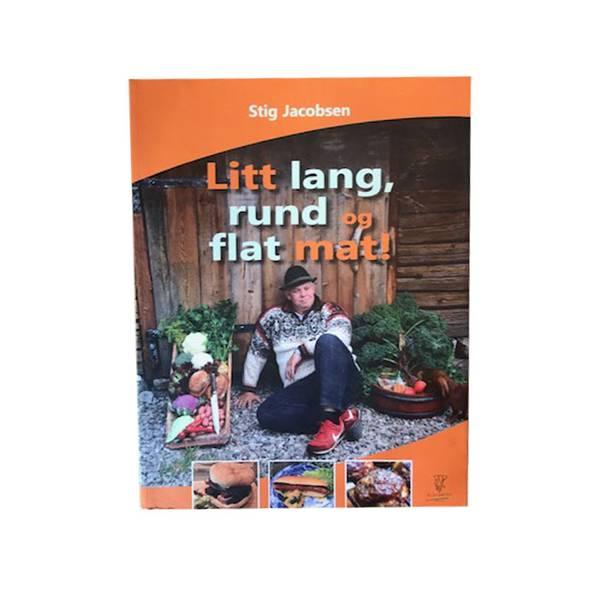 Bilde av Litt lang, rund og flat mat! - Stig Jacobsen