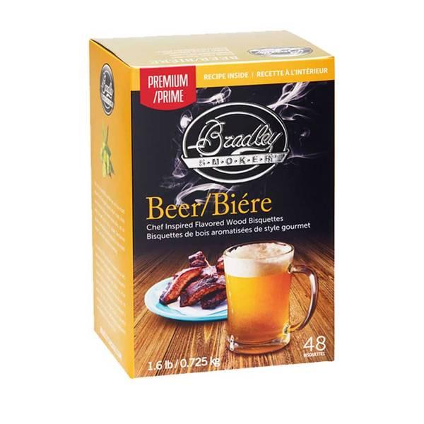 Bilde av 48 stk. Bradley Premium Røykbriketter Beer