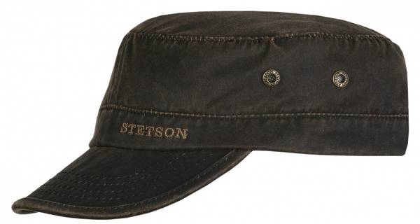 Bilde av Stetson Army cap sort og brun