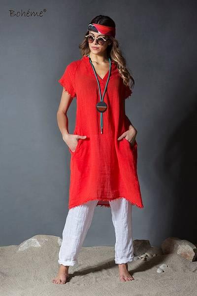 Bilde av Boheme kjole medium/kort orange