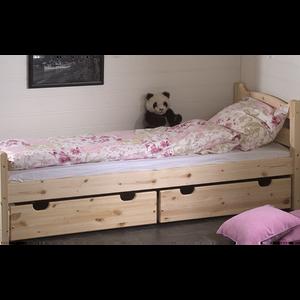 Bilde av Liten sengeskuff furu
