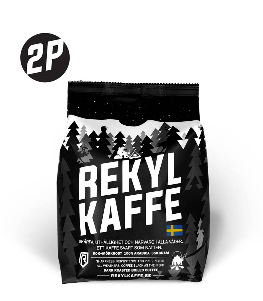 REKYL Kaffe 2 pack, Kokmalt