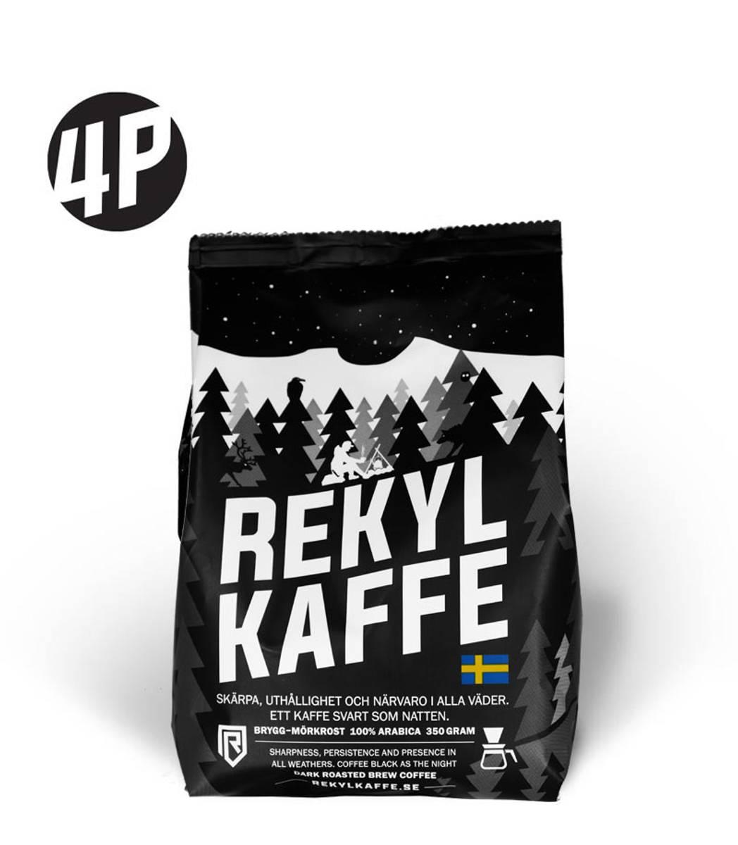 REKYL Kaffe 4 pack, Filtermalt