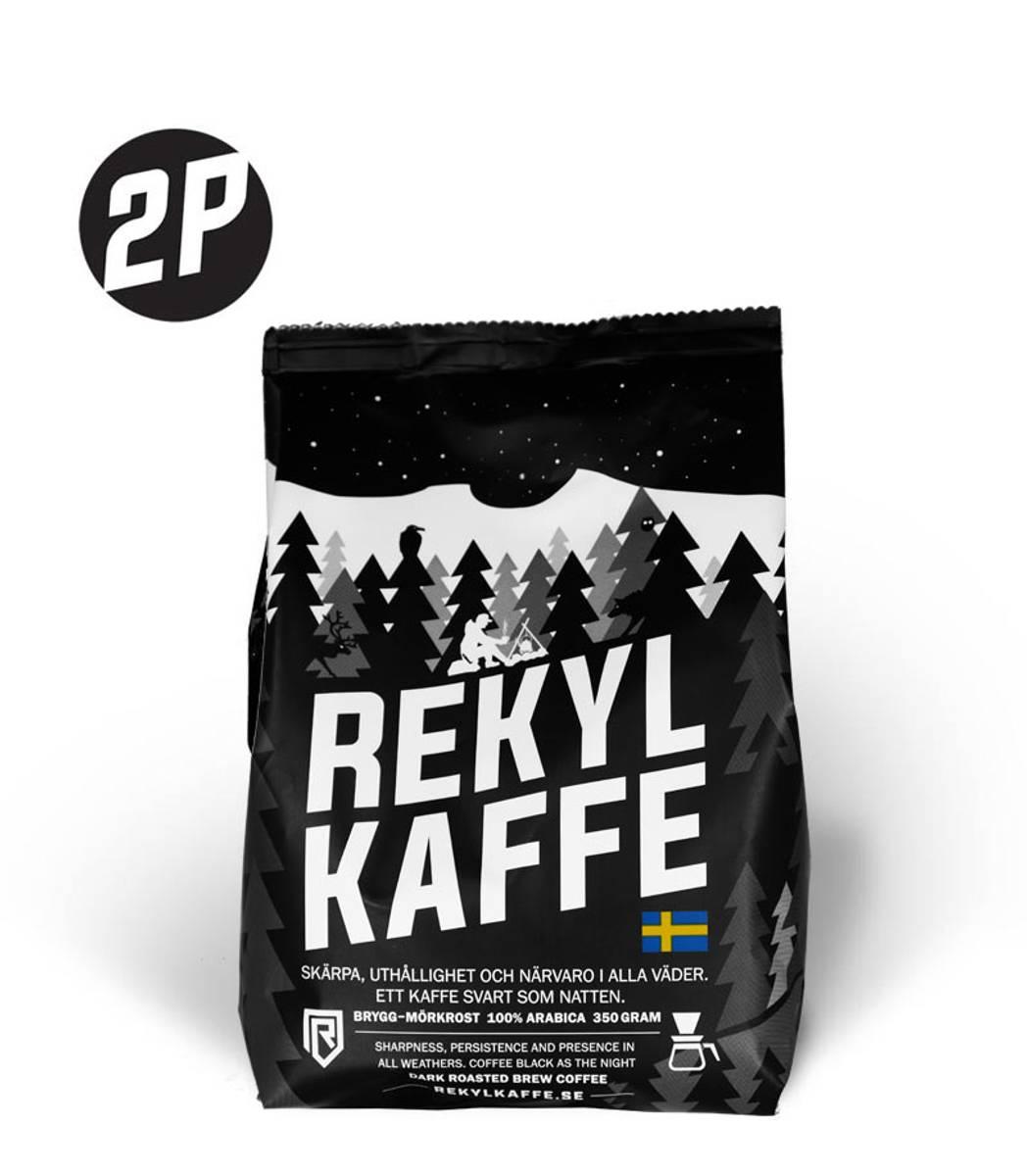 REKYL Kaffe 2 pack, Filtermalt