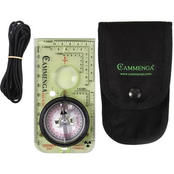 Bilde av Cammenga Destinate Tritium Protractor Compass