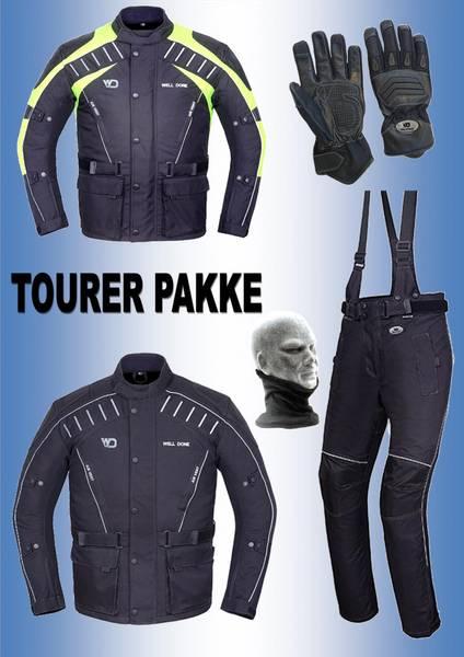 TOURER PAKKE  jakke,bukse,hansker, halsvarmere